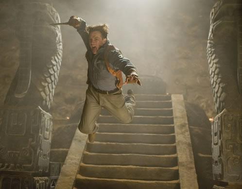Brendan Fraser en The Mummy 3: Tomb of the Dragon Emperor